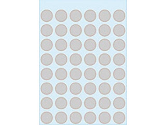 Etiket herma 1858 rond 12mm grijs 240stuks