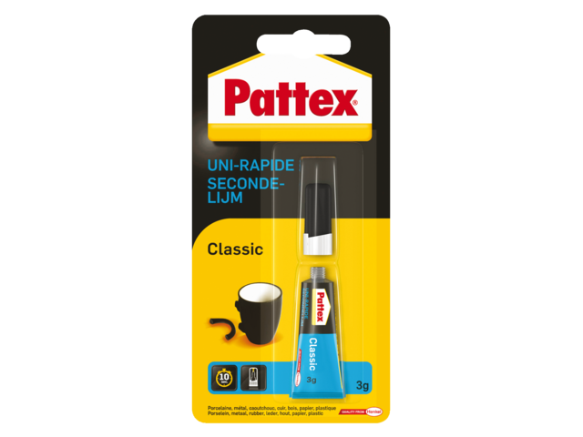SECONDELIJM PATTEX TUBE 3GR
