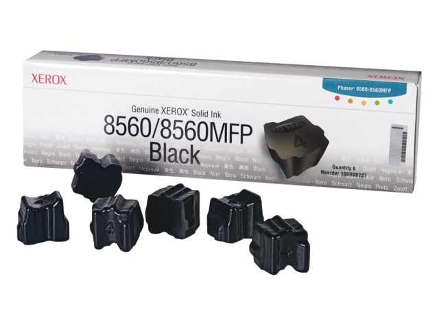 Colorstix xerox 108r00727 zwart 6x