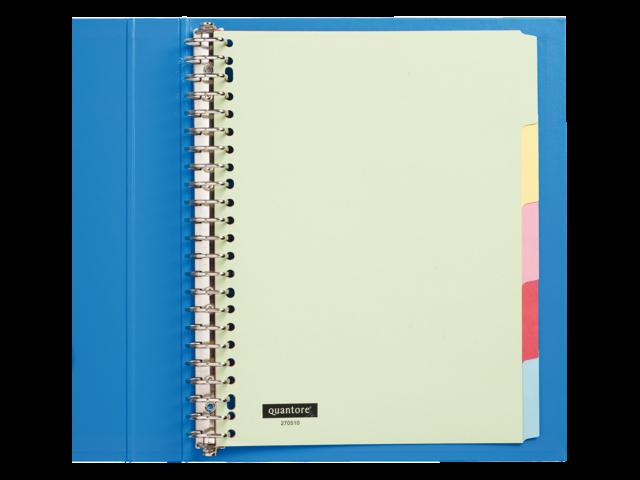 Quantore tabbladen karton gekleurd 23-gaats