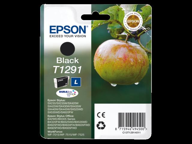Inkcartridge epson t129140 zwart