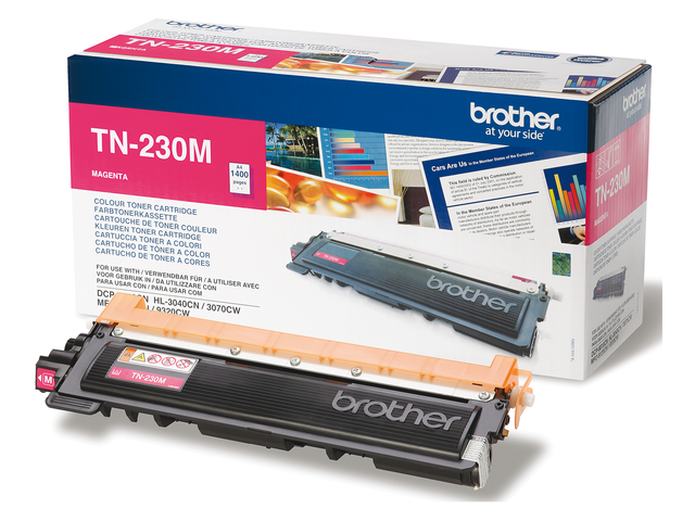 Tonercartridge brother tn-230m rood