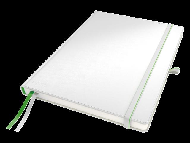 Notitieboek leitz complete hardcover ipad gelinieerd wit