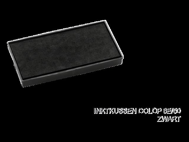 Stempelkussen colop 6e/50 zwart