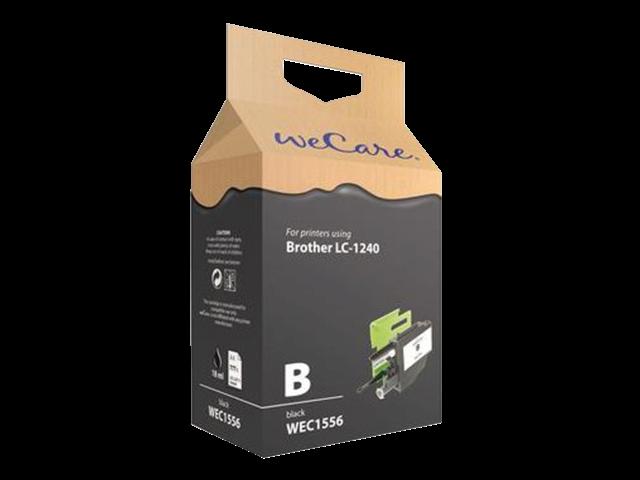Inkcartridge wecare brother lc-1240 zwart