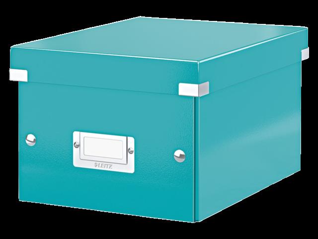 Opbergbox leitz click en store 200x148x250mm ijsblauw