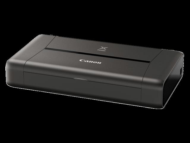 Inkjetprinter canon pixma ip110 + batterij