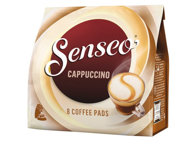 koffiepads douwe egberts senseo cappuccino 8 stuks bestel. Black Bedroom Furniture Sets. Home Design Ideas