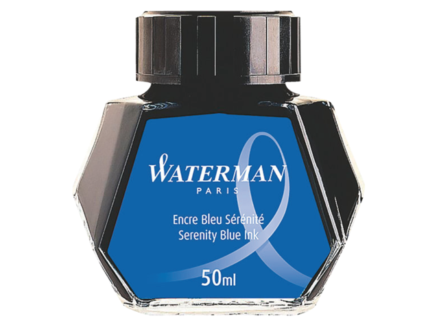 Vulpeninkt waterman 50ml sereen blauw