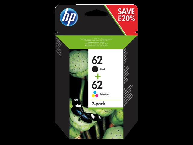INKCARTRIDGE HP 62 N9J71AE ZWART KLEUR