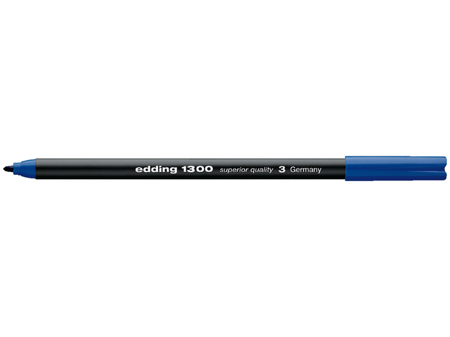 FINELINER EDDING 1300 3.0MM BLAUW