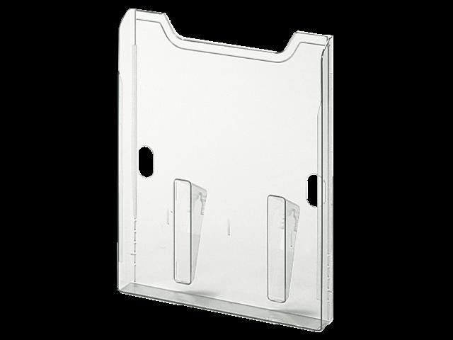 Folderhouder multiform wand a4 einbox helder transparant