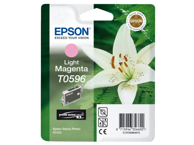 Inkcartridge epson t059640 lichtrood