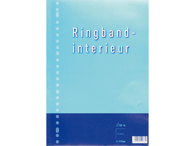 Interieur 23-rings 70gr 50vel blanco