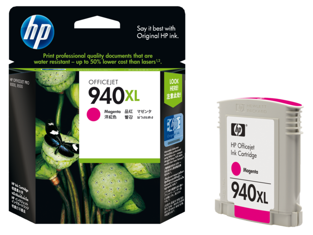 Inkcartridge hp c4908ae 940xl rood hc