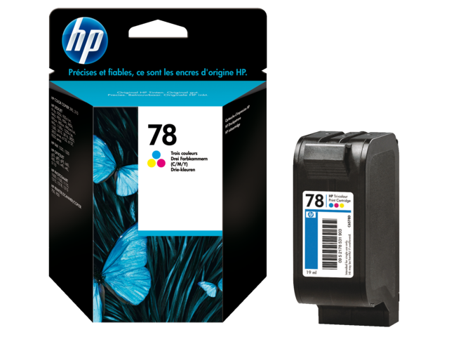 Inkcartridge hp c6578d 78 kleur