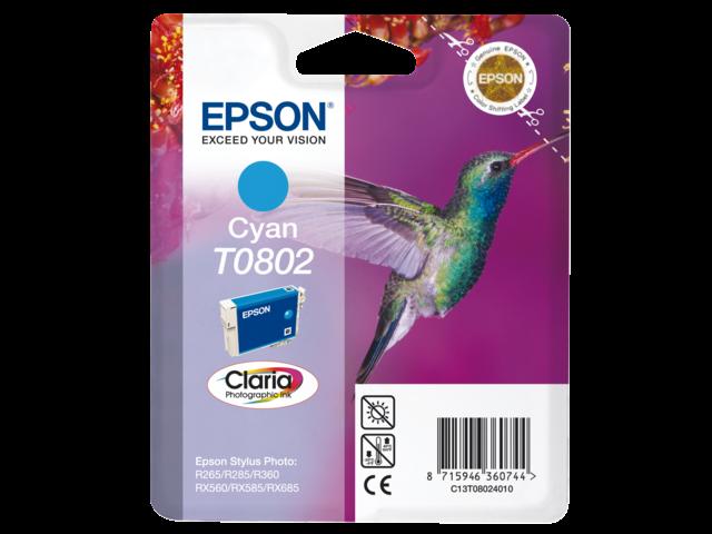 Inkcartridge epson t080240 blauw
