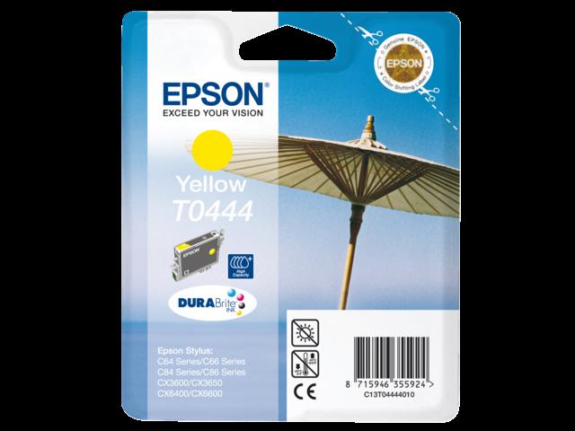 Inkcartridge epson t044440 geel hc