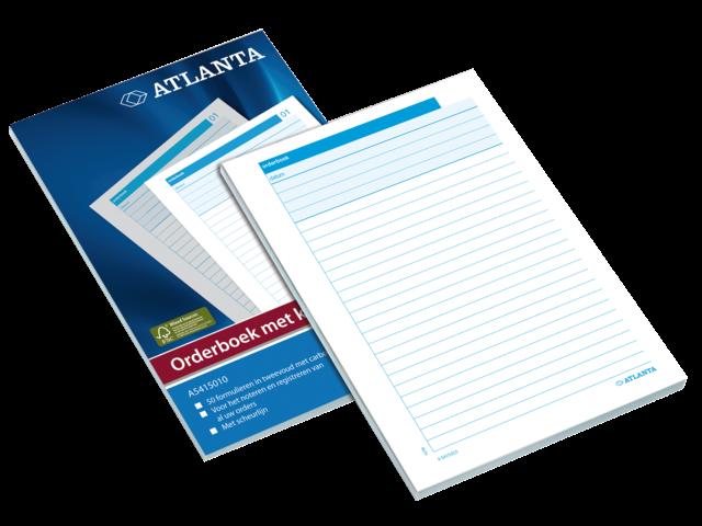 Orderboek atlanta a5415-020 a5 50x3vel