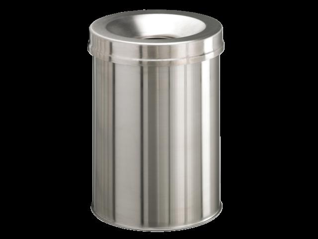 Papierbak met vlamdover durable 3376-23 15liter rvs