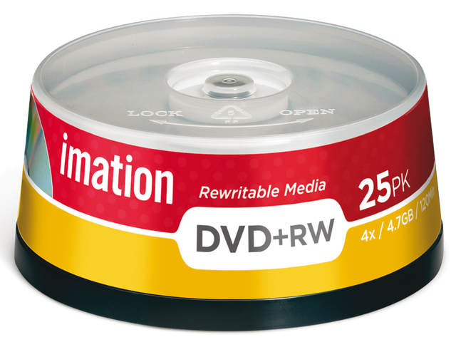 Photo: DVD+RW IMATION 4.7GB 4X SPINDEL
