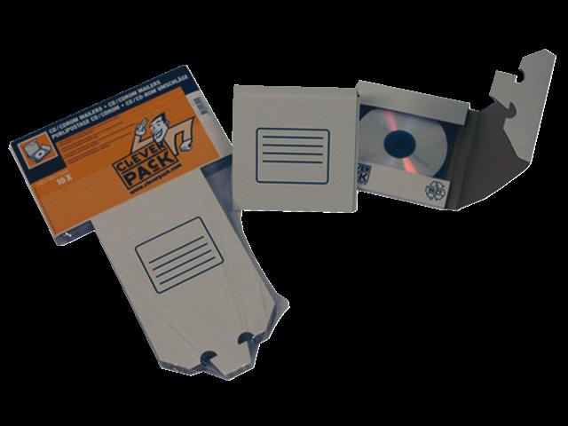 Cd verzendenvelop cleverpack mailer karton wit