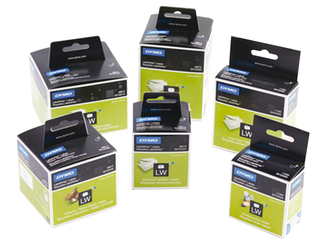 Etiket dymo 947420 labelprint 450xl 102x59mm 2x575stuks