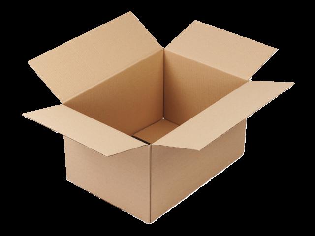 Verzenddoos cleverpack enkelgolf 430x305x250mm bruin 10stuks