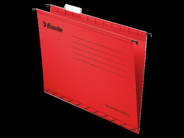 Hangmap pendaflex folio v-bodem rood