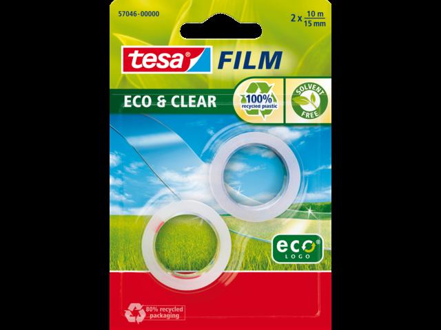 Plakband tesa film eco 15mmx10m in blisterverpakking