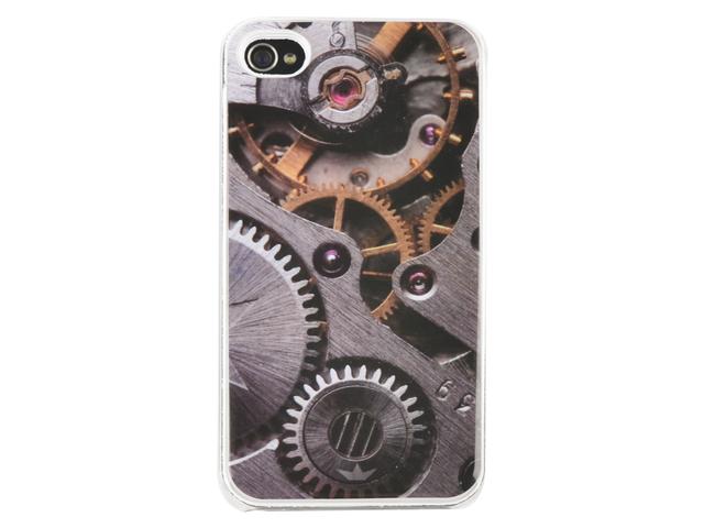 Telefoonhoes dresz iphone 4/4s motief tandwiel
