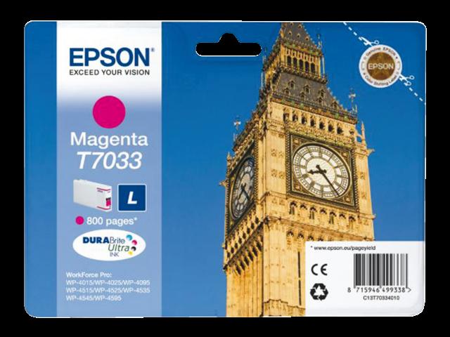 Inkcartridge epson t703340 rood