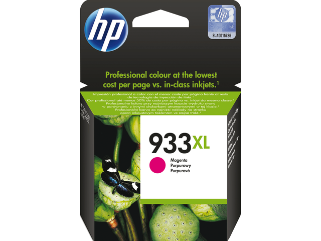 Inkcartridge hp cn055ae 933xl rood hc