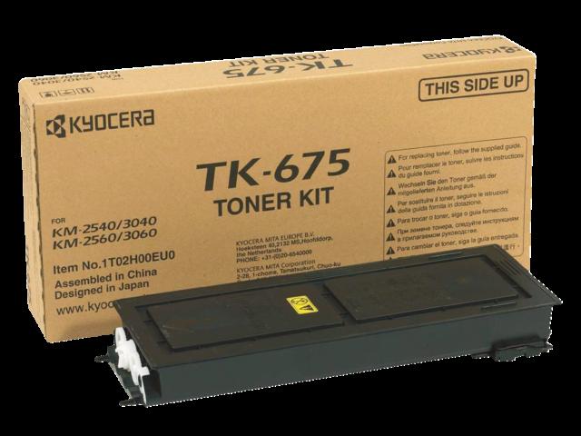 Toner kyocera tk-675k zwart