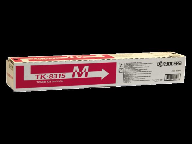Toner kyocera tk-8315m rood