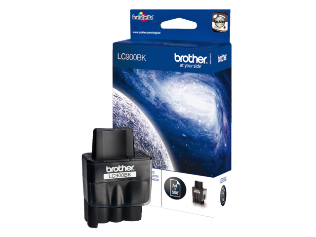 Inkcartridge brother lc-900bk zwart