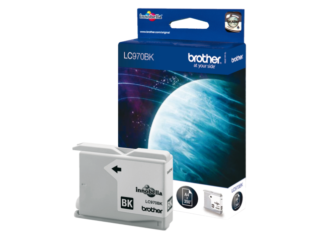Inkcartridge brother lc-970bk zwart