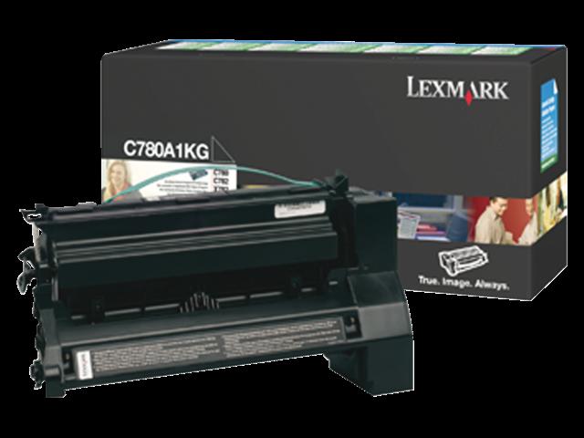 Tonercartridge lexmark c780a1kg prebate zwart