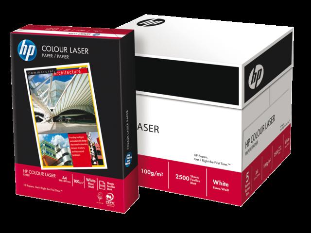 Laserpapier hp cg964a colour a4 120gr wit 250vel