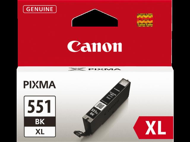 Inkcartridge canon cli-551bkxl zwart hc