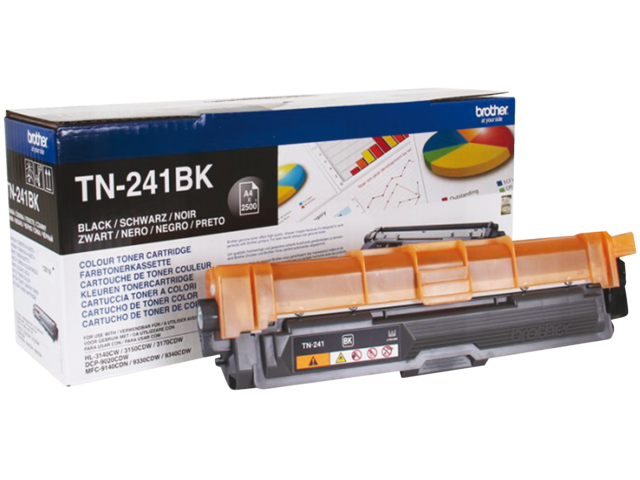 Tonercartridge brother tn-241bk zwart