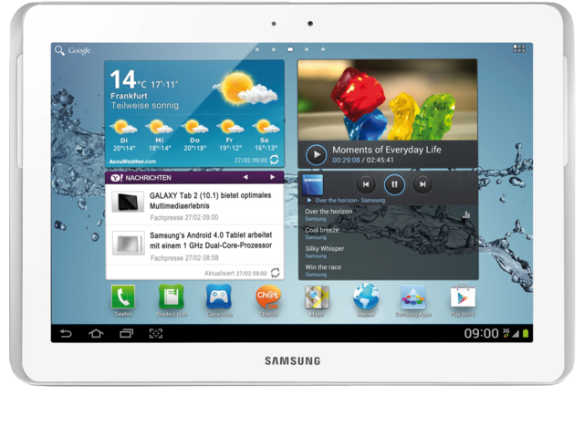 Galaxy tab2 samsung 10.1 16gb wifi wit