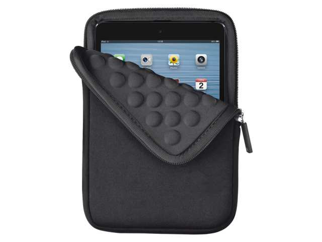 Tablethoes bubble 8inch tablet anti-schok zwart