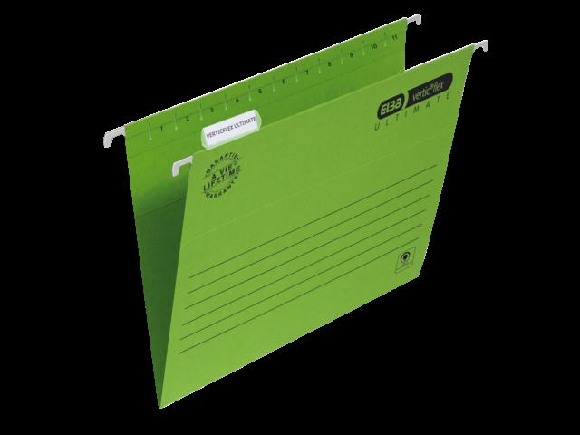 Hangmap elba verticflex a4 v-bodem groen