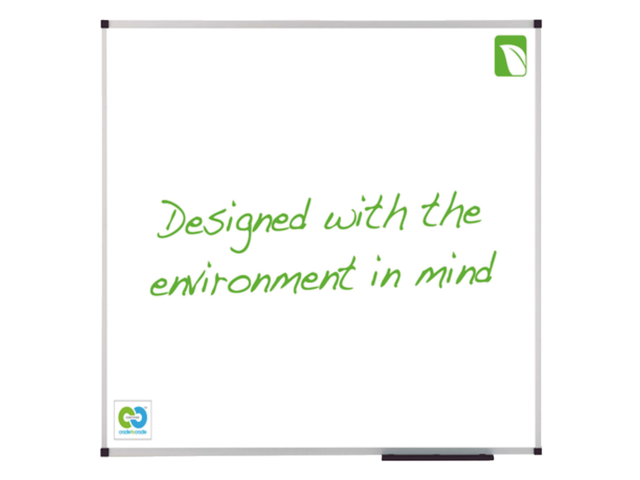 Whiteboard nobo green 100x150cm magnetisch emaile