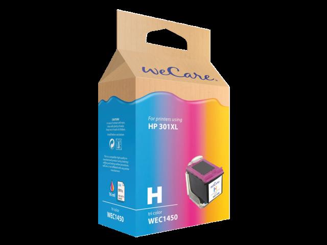 Inkcartridge wecare hp ch564ee 301xl kleur hc
