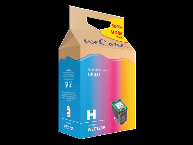 Inkcartridge wecare hp cb337ee 351 kleur