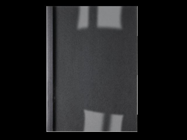 THERMISCHE OMSLAG GBC A4 3MM LINNEN ZWART