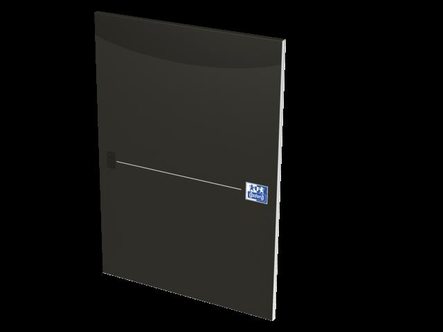 SCHRIJFBLOK OXFORD OFFICE SMART ZWART A4 90GR LIJN