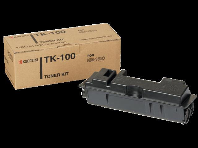 Toner kyocera tk-100 zwart